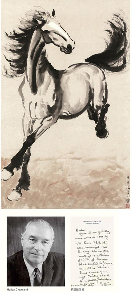 徐悲鸿(1895-1953) 日行千里